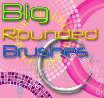 rounded brushes by Najuj