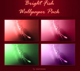 Bright Fish Wallpaper Pack by ya6r