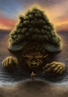Avatar Lion Turtle by PeterSiedlArt