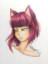 Copic practice by Ethevian
