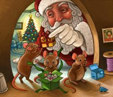 Merry Mice by CAMartin