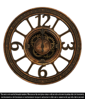 RESTRICTED - Steampunk Clock II Render by frozenstocks