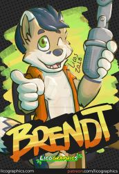 Uncle Brendt badge by LicosAragon