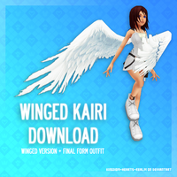 Winged and final Kairi form - DL by SnowEmbrace