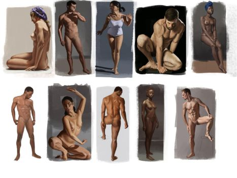 Figure Study n2 by Orchetto