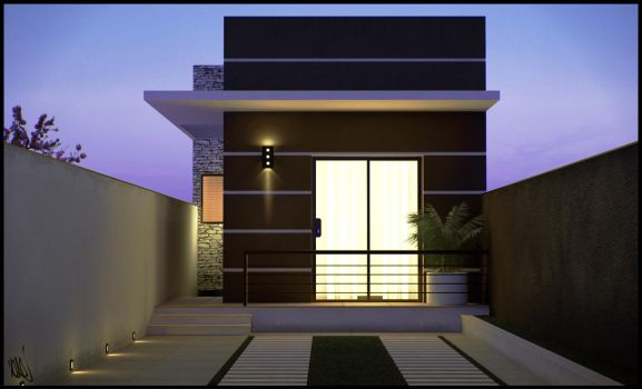 Residence Facade 2 by DaCone