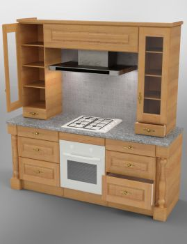 Cooking Station by john-reilly