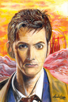 10th Doctor. Dreams Of Gallifrey by MadelineSlytherin