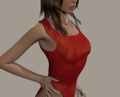 Lifeguard Breast Expansion (Animated) by Fempowerment2020