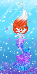 Nicole mermaid princess by Nicole-Ennet
