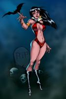 Vampirella - Randy Green by Ronron84
