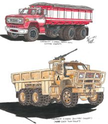 Chevrolet C-Series Military Concept M1100 CUCV by Deorse