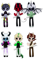 Demon boy adopts  CLOSED by MochaInk
