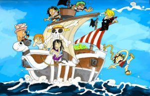 Going Merry- expo 09 by olafpriol