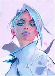 Snow Freckles by rossdraws