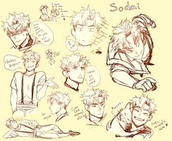 Sodai sketches- by nakaru-san