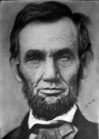 Abraham Lincoln by JG-Pain
