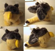 Gryphonball soft toy by Rahball