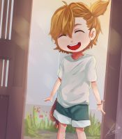 Naru from Barakamon by Closz