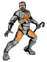 Gordon Freeman by CrimeRoyale