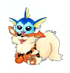 Arcanine's New Hat! by Kai45