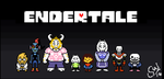 Undertale - Endertale Overworld Sprites by TC-96