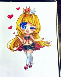 Queen Quinn is saying Hello Lovies! by HatsuneSnow