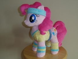Pink pony Looking Cool in a Headband by WhiteDove-Creations