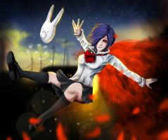 Tokyo ghoul-Touka by Atharea