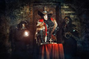 Warhammer40000 Cosplay - Inquisitor Ordo Hereticus by alberti