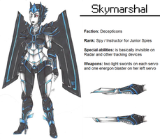 :TfP OC: Skymarshal by MikuParanormal