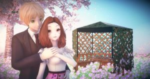 . : In The Garden, With My Love : . by AngelBunnyMiki