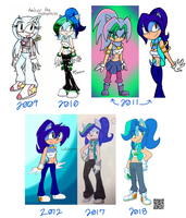 Amber Evolution by xLugiaLuver1x