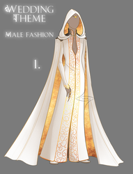 Outfit adopt [CLOSED] Wedding Theme - Male Fashion by lealin