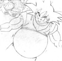 Big Goku by Becksgirl