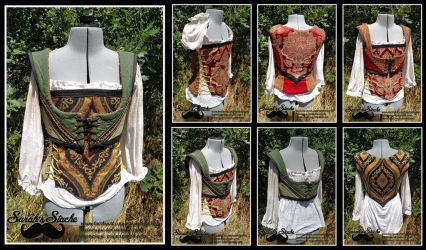 8 Way Bodice Set by Durnesque