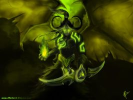 ILLIDAN STORMRAGE by R-12artWORK