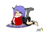 Happy b-day Alodo by metalzaki