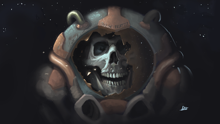 Dead Guy in Space by Den4oStojanov