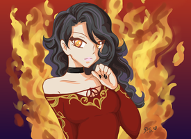 Cinder Fall by Pink-Satin