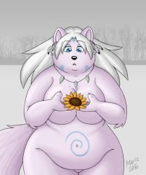 guardian of the sunflower by PudgeyRedFox