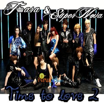T-ara ft. SuperNova - time to love 2 album cover by babyv004