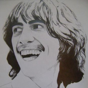 George Harrison by spookisapuppy