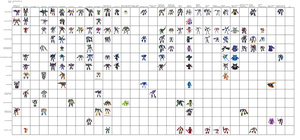 Transformers Decepticon toy chart (extra details) by Kirby-Force