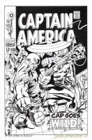 CAPTAIN AMERICA #106 Cover Art RECREATION by DRHazlewood