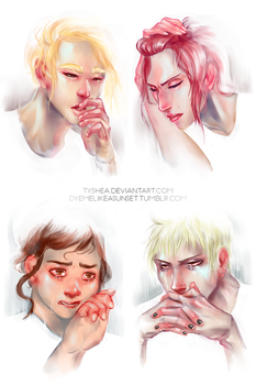 SxS - I'll shed two tears by Dyemelikeasunset