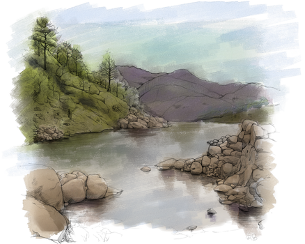 Nature Sketch Color by AngeliqueChan