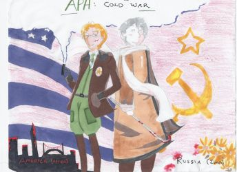 APH- The Cold War by celticfox19