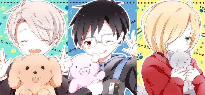 S: YOI Cheebs by Tetonori