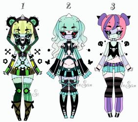 Zombie doll adoptable Closed by AS-Adoptables